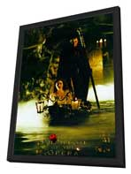 The Phantom of the Opera - 11 x 17 Movie Poster - Style G - in Deluxe Wood Frame