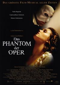The Phantom of the Opera - 11 x 17 Movie Poster - German Style A