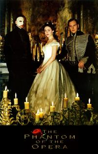 The Phantom of the Opera - 11 x 17 Movie Poster - Style B