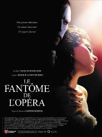 The Phantom of the Opera - 11 x 17 Movie Poster - French Style K