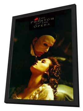 The Phantom of the Opera - 11 x 17 Movie Poster - Style E - in Deluxe Wood Frame