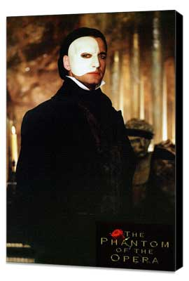 The Phantom of the Opera - 11 x 17 Movie Poster - Style D - Museum Wrapped Canvas