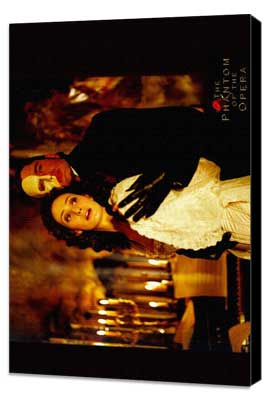 The Phantom of the Opera - 11 x 17 Movie Poster - Style F - Museum Wrapped Canvas