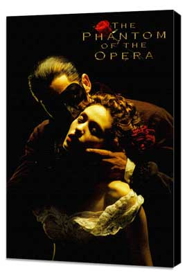 The Phantom of the Opera - 11 x 17 Movie Poster - Style J - Museum Wrapped Canvas