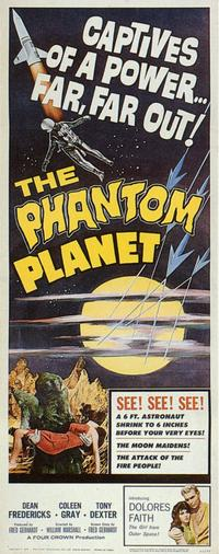 The Phantom Planet - 11 x 17 Movie Poster - Style A