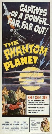 The Phantom Planet - 43 x 62 Movie Poster - Bus Shelter Style A