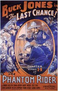 The Phantom Rider - 27 x 40 Movie Poster - Style A