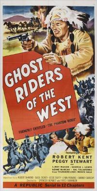 The Phantom Rider - 11 x 17 Movie Poster - Style B