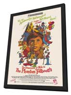 Phantom Tollbooth - 11 x 17 Movie Poster - Style A - in Deluxe Wood Frame