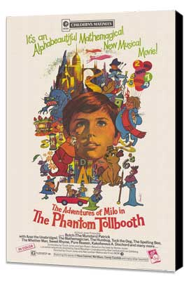 Phantom Tollbooth - 11 x 17 Movie Poster - Style A - Museum Wrapped Canvas