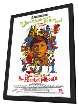 Phantom Tollbooth - 27 x 40 Movie Poster - Style A - in Deluxe Wood Frame