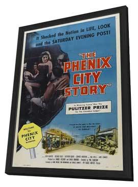 The Phenix City Story - 11 x 17 Movie Poster - Style B - in Deluxe Wood Frame