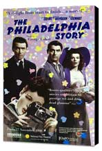 The Philadelphia Story - 11 x 17 Movie Poster - UK Style A - Museum Wrapped Canvas