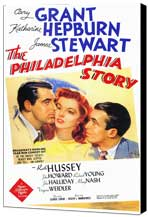 The Philadelphia Story - 27 x 40 Movie Poster - Style A - Museum Wrapped Canvas