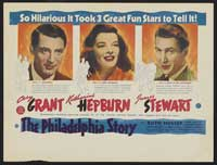 The Philadelphia Story - 11 x 17 Movie Poster - Australian Style A