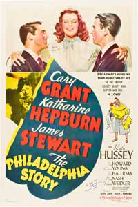 The Philadelphia Story - 27 x 40 Movie Poster - Style B