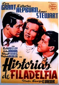 The Philadelphia Story - 11 x 17 Movie Poster - Spanish Style A