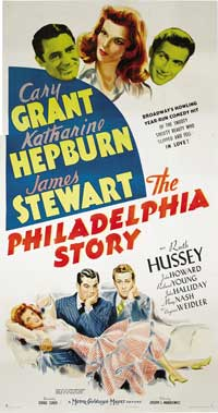 The Philadelphia Story - 20 x 40 Movie Poster - Australian Style A