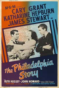 The Philadelphia Story - 11 x 17 Movie Poster - UK Style B