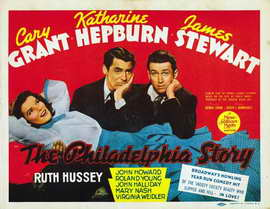 The Philadelphia Story - 22 x 28 Movie Poster - Half Sheet Style A