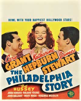 The Philadelphia Story - 11 x 17 Movie Poster - Style E