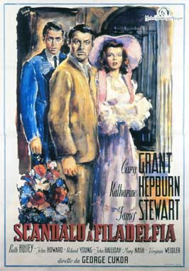 The Philadelphia Story - 11 x 17 Movie Poster - Italian Style B