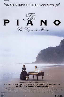 The Piano - 11 x 17 Movie Poster - Style C
