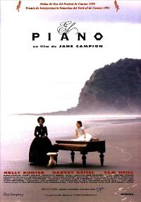 The Piano - 11 x 17 Movie Poster - Spanish Style A