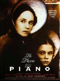 The Piano - 27 x 40 Movie Poster - French Style A