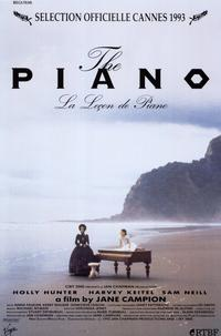 The Piano - 11 x 17 Movie Poster - Style C - Museum Wrapped Canvas