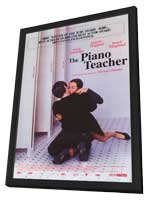 The Piano Teacher - 11 x 17 Movie Poster - Style A - in Deluxe Wood Frame