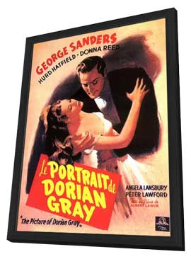 The Picture of Dorian Gray - 11 x 17 Movie Poster - French Style A - in Deluxe Wood Frame