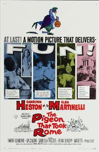 The Pigeon That Took Rome - 11 x 17 Movie Poster - Style A