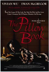 The Pillow Book Movie Posters From Movie Poster Shop