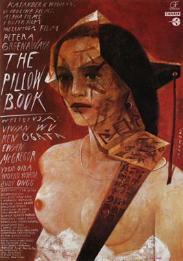 The Pillow Book - 11 x 17 Movie Poster - Polish Style A