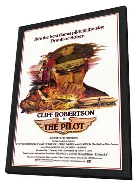 The Pilot - 11 x 17 Movie Poster - Style A - in Deluxe Wood Frame