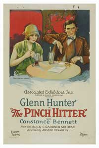 The Pinch Hitter - 27 x 40 Movie Poster - Style A