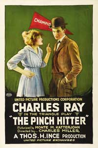 The Pinch Hitter - 11 x 17 Movie Poster - Style D