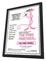 The Pink Panther - 11 x 17 Movie Poster - Style A - in Deluxe Wood Frame