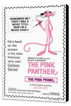 The Pink Panther - 11 x 17 Movie Poster - Style A - Museum Wrapped Canvas