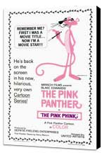The Pink Panther - 27 x 40 Movie Poster - Style A - Museum Wrapped Canvas