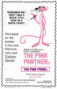 The Pink Panther - 11 x 17 Movie Poster - Style A