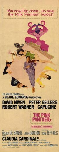 The Pink Panther - 14 x 36 Movie Poster - Insert Style A