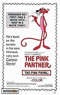 The Pink Panther - 43 x 62 Movie Poster - Bus Shelter Style A