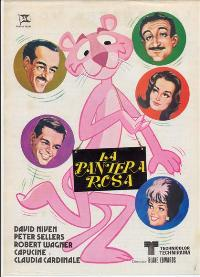 The Pink Panther - 11 x 17 Movie Poster - Spanish Style A