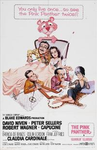 The Pink Panther - 43 x 62 Movie Poster - Bus Shelter Style B