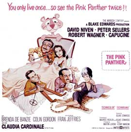 The Pink Panther - 30 x 30 Movie Poster - Style A