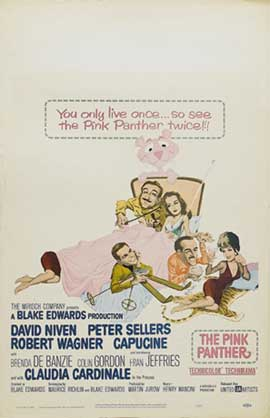 The Pink Panther - 11 x 17 Movie Poster - Style C