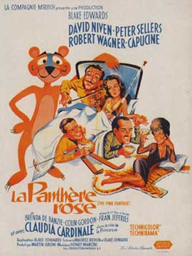 The Pink Panther - 11 x 17 Movie Poster - French Style A