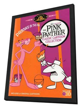 The Pink Panther Show - 11 x 17 Movie Poster - Style A - in Deluxe Wood Frame